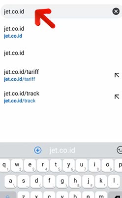 Cara Cek Resi via Website Resmi JT