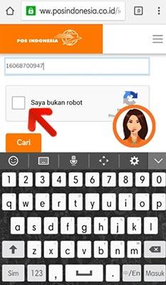 Resi Pos Indonesia