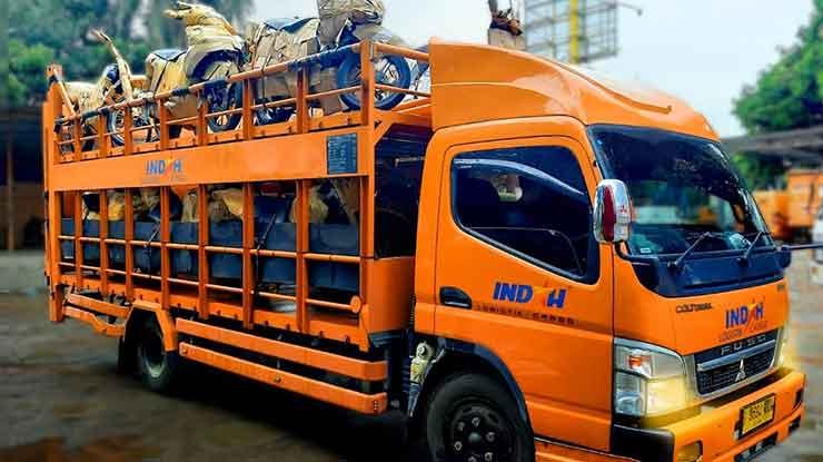 jasa pengiriman motor Indah Cargo