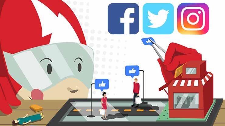 Cara Komplain Melalui Sosial Media