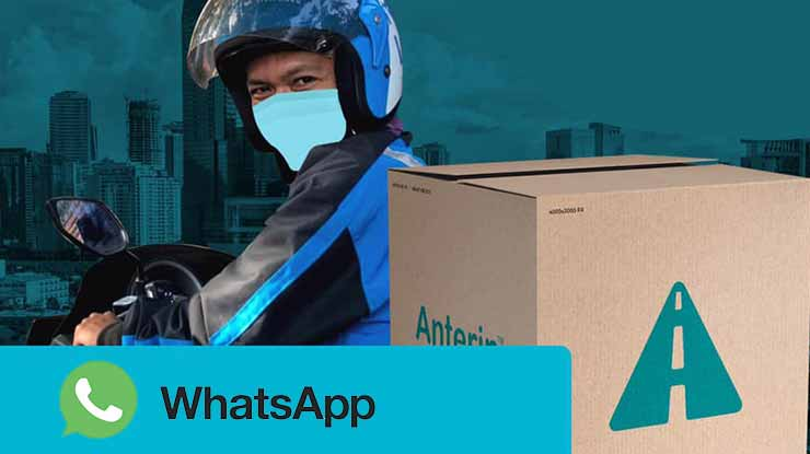 Cara Komplain via WhatsApp Anterin Express