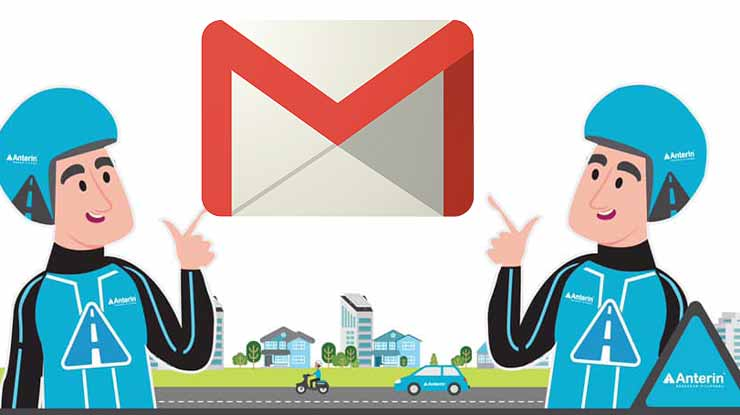 Komplain via Email Anterin Express