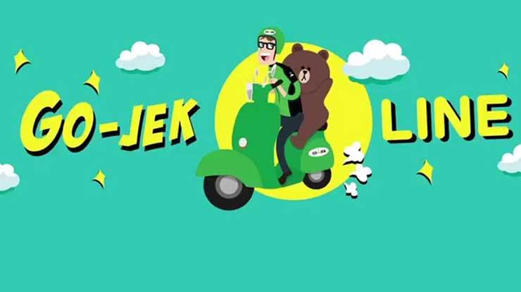 Line Gojek Indonesia