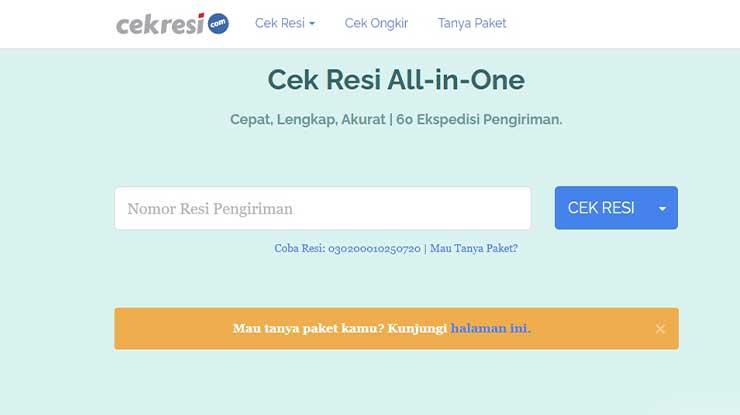 Memakai Situs Cekresi.com