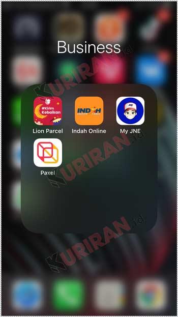 1 Buka Aplikasi Indah Online