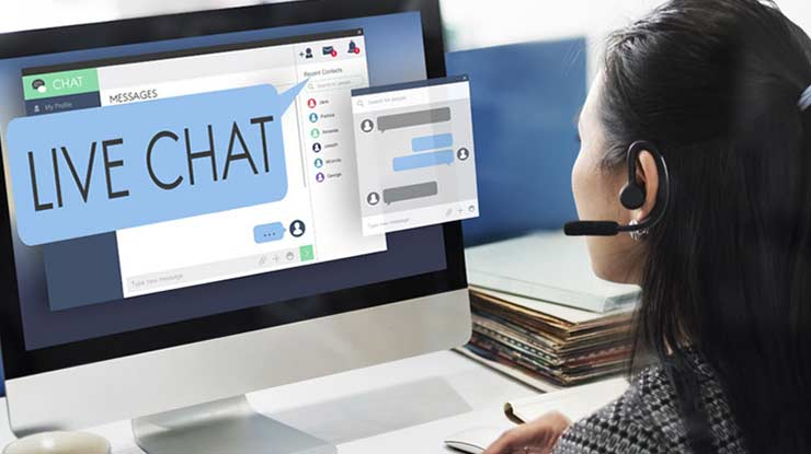 Komplain Melalui Live Chat