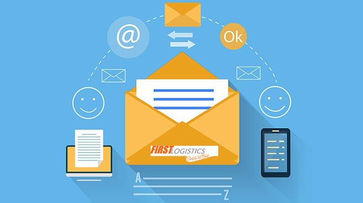 Lewat Email First Logistics