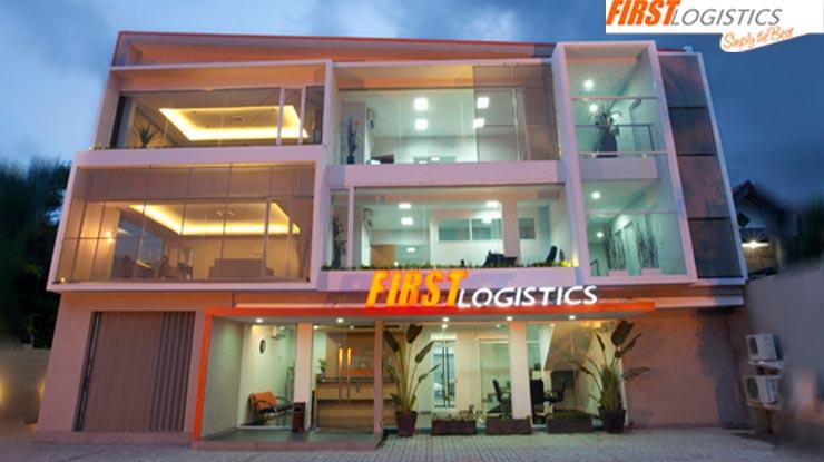 Lewat Kantor First Logistics