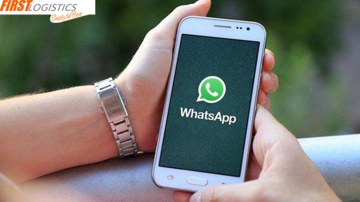 Melalui WhatsApp First Logistics