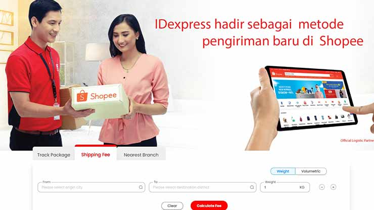 cek tarif id express indonesia