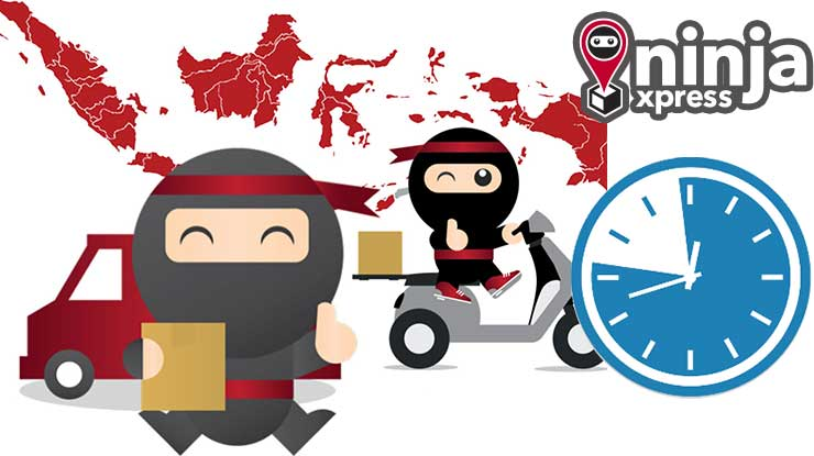 waktu pengiriman ninja van id