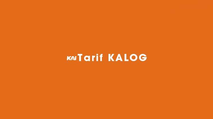 Tarif KALOG